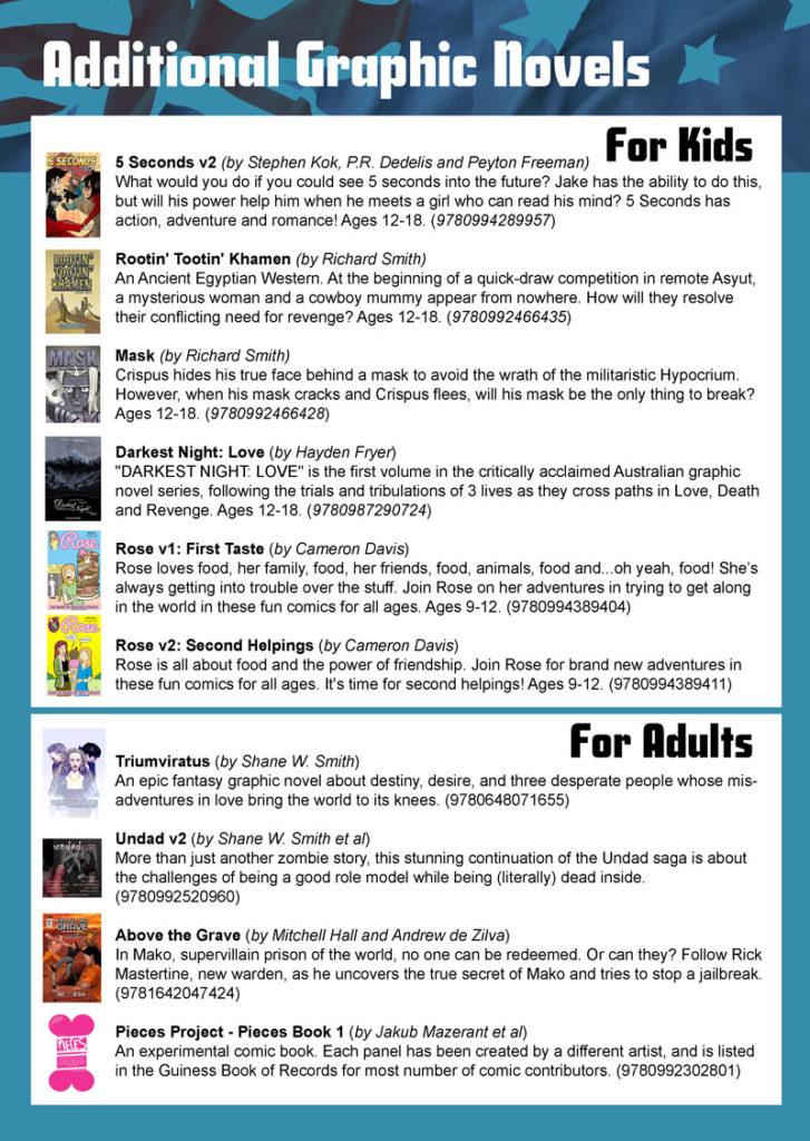 Australian Graphic Novels for Libraries – Queenie Chan